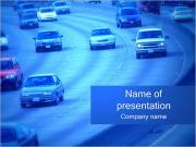 Voitures de circulation Modèles des présentations  PowerPoint
