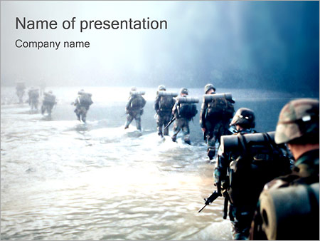 Military Operation Powerpoint Template Backgrounds Google Slides