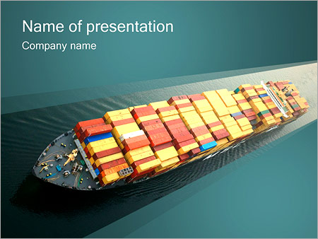 Transportation powerpoint templates backgrounds google slides container ship powerpoint template toneelgroepblik Choice Image