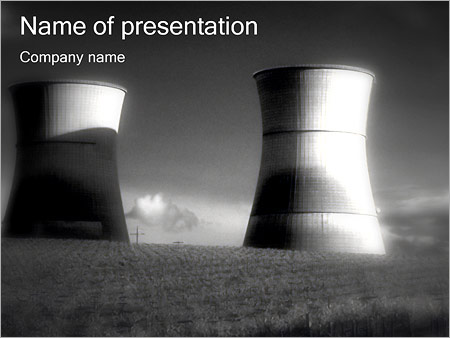 Nuclear plant powerpoint template backgrounds google slides id nuclear plant powerpoint template maxwellsz