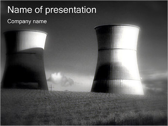 Nuclear Plant PowerPoint Template