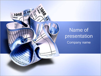 Crumpled Paper PowerPoint Template