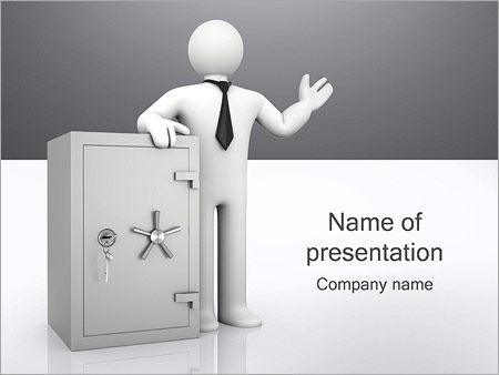 Safe Bank PowerPoint Templates