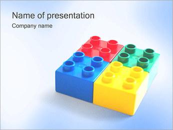 Toy Blocks Modèles des présentations  PowerPoint