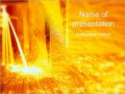 Molten Steel PowerPoint Templates