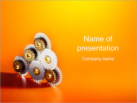 Gears powerpoint template backgrounds google slides id gears powerpoint template maxwellsz