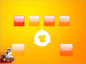 Gears PowerPoint Template - Slide 10