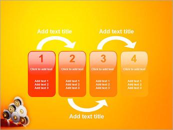 Gears PowerPoint Template - Slide 11