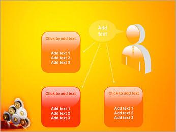 Gears PowerPoint Template - Slide 12