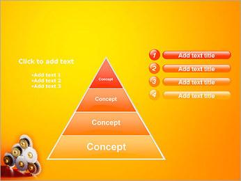 Gears PowerPoint Template - Slide 22