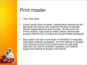 Gears PowerPoint Template - Slide 24