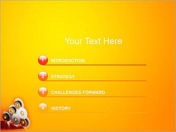 Gears PowerPoint Template - Slide 3