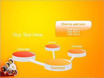 Gears PowerPoint Template - Slide 9