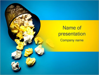 Trash PowerPoint Template