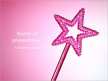 Magic Wand PowerPoint Template