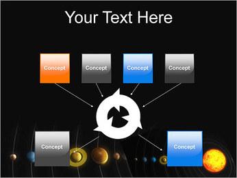 Système solaire Modèles des présentations  PowerPoint - Diapositives 10