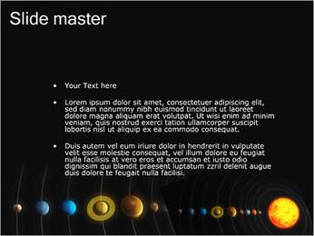 Système solaire Modèles des présentations  PowerPoint - Diapositives 2