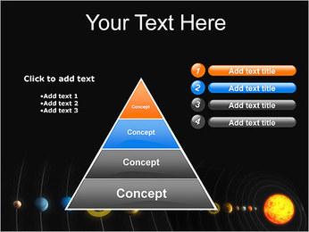 Système solaire Modèles des présentations  PowerPoint - Diapositives 22