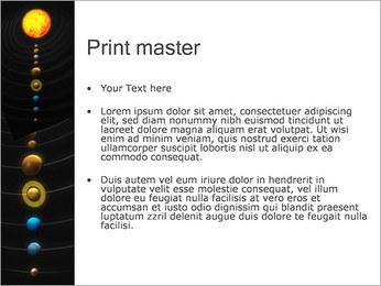 Système solaire Modèles des présentations  PowerPoint - Diapositives 24