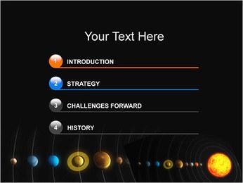 Système solaire Modèles des présentations  PowerPoint - Diapositives 3