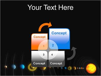 Système solaire Modèles des présentations  PowerPoint - Diapositives 5