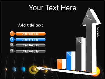 Système solaire Modèles des présentations  PowerPoint - Diapositives 6