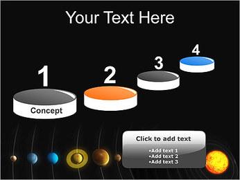 Système solaire Modèles des présentations  PowerPoint - Diapositives 7