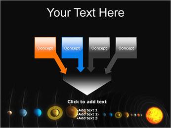 Système solaire Modèles des présentations  PowerPoint - Diapositives 8