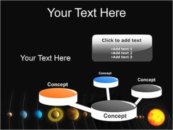 Système solaire Modèles des présentations  PowerPoint - Diapositives 9
