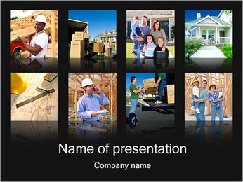 New House Images PowerPoint Template