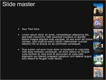 New House Images Modelos de apresentações PowerPoint - Slide 2
