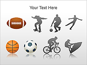 Sport Set PPT Diagrams & Charts
