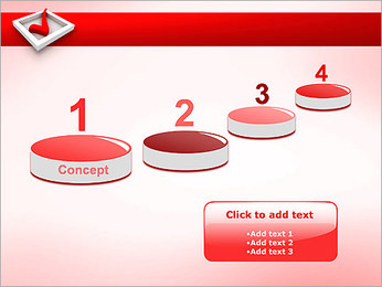 Check Symbol PowerPoint Templates - Slide 7