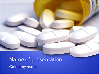 Pill Bottle PowerPoint Template