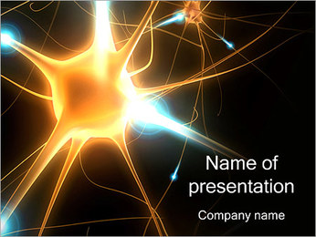 Nerve Cell PowerPoint Template
