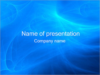 Blue Abstract PowerPoint Template