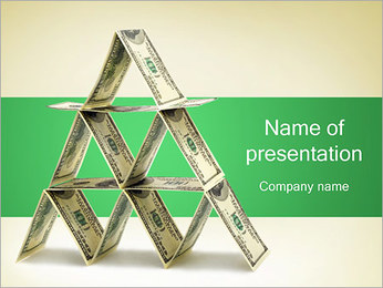 Money Pyramid PowerPoint Template