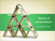 Money Pyramid PowerPoint Templates