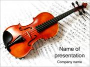 Violin and Music PowerPoint Templates