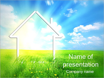 New House PowerPoint sunum şablonları
