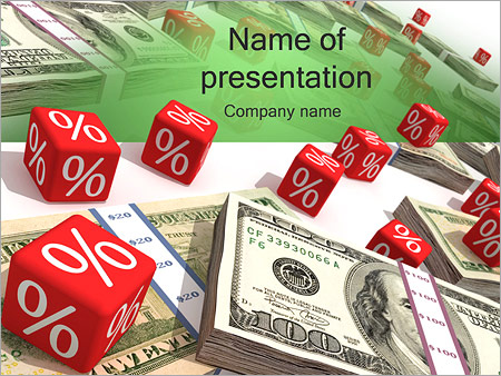 Money and Percentage PowerPoint Template