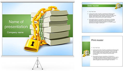 Safety Money Investment PowerPoint Template Backgrounds ID – Safety Powerpoint Template