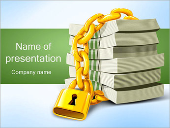 Safety Money Investment PowerPoint Template