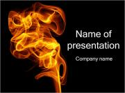Fire Smoke PowerPoint Templates
