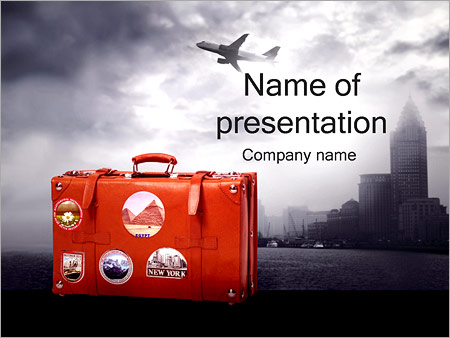 bright vacation powerpoint template backgrounds google slides