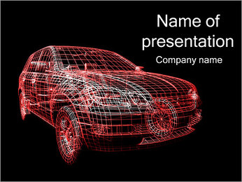Car Model PowerPoint Template