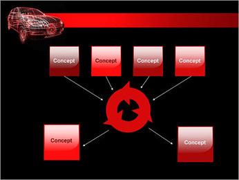 Modèle de voiture Modèles des présentations  PowerPoint - Diapositives 10