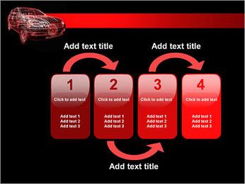 Modèle de voiture Modèles des présentations  PowerPoint - Diapositives 11