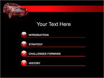 Modèle de voiture Modèles des présentations  PowerPoint - Diapositives 3