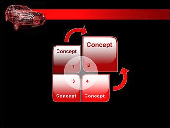 Modèle de voiture Modèles des présentations  PowerPoint - Diapositives 5